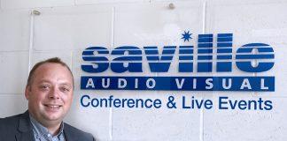 Chris Philpott, Operations Director at Saville AV