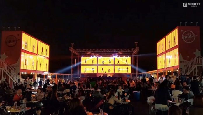 G-Tainers constructed two high at the Starlight Festival, South Korea
