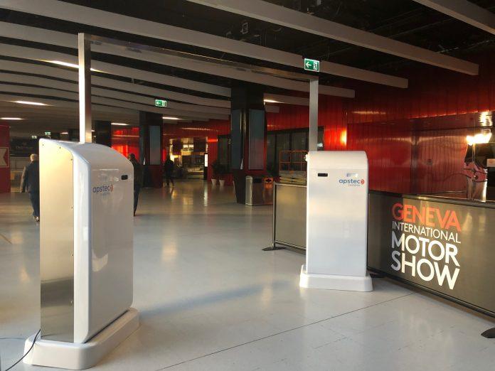 Human Security Radar at the International Motor Show 2019