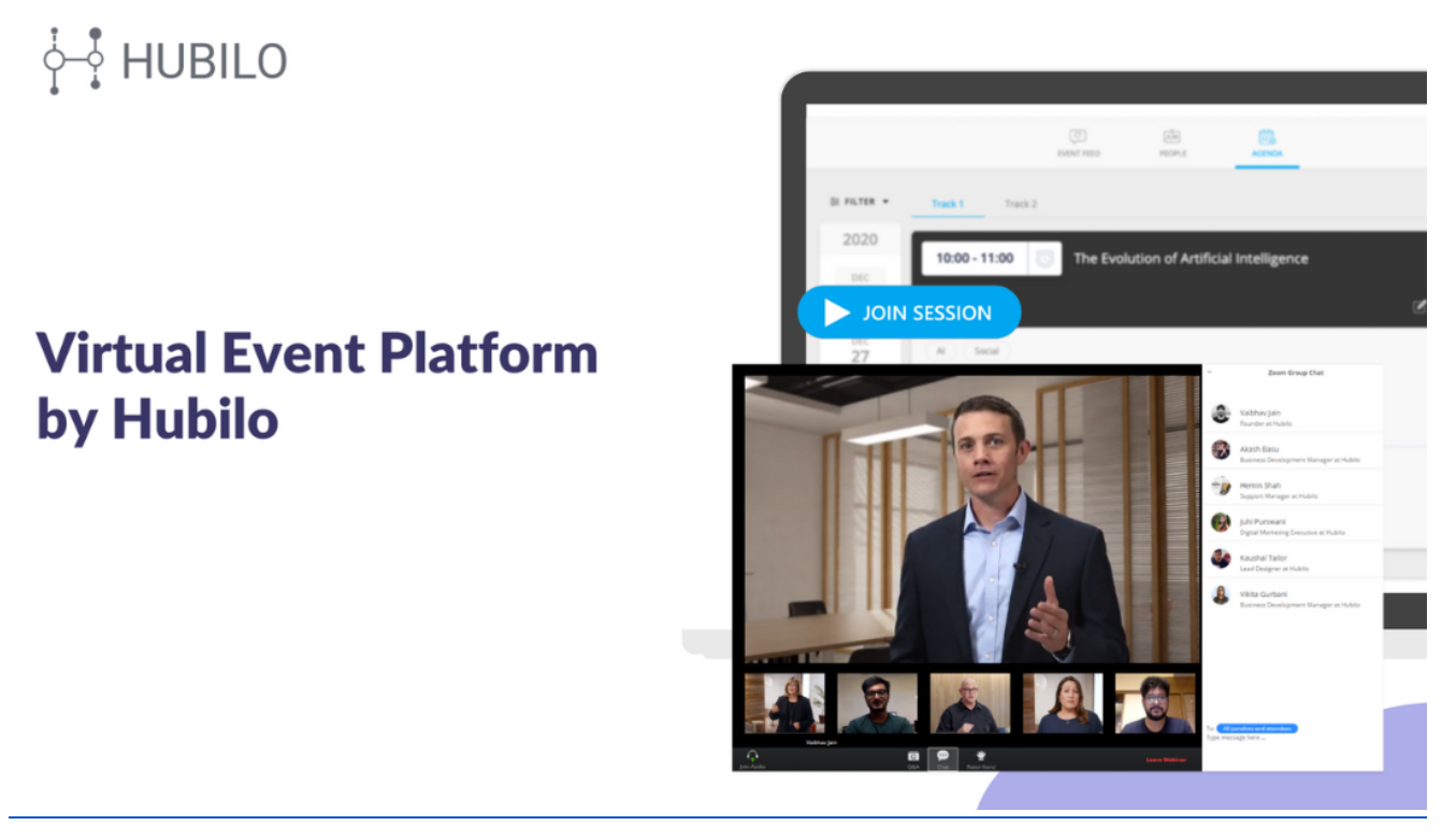 Hubilo Launches The Virtual Event Platform That Transforms The Entire Event Experience Online In Just 15 Days Event Industry News